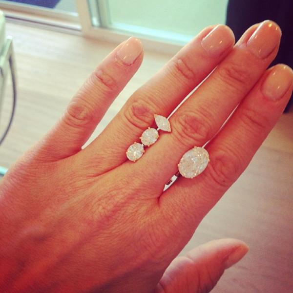 Diane Kruger, Ring, Instagram