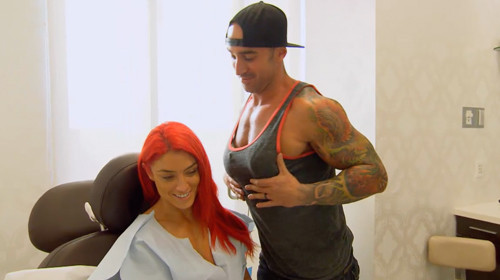 Wwe Diva Eva Marie Gets Replacement Breast Implants After -6481