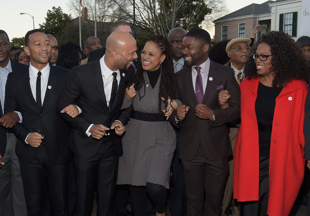 John Legend, Common, Ava DuVernay, David Oyelowo, Oprah Winfrey