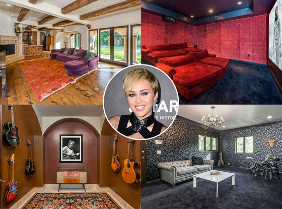 Miley Cyrus, Toluca Lake Home