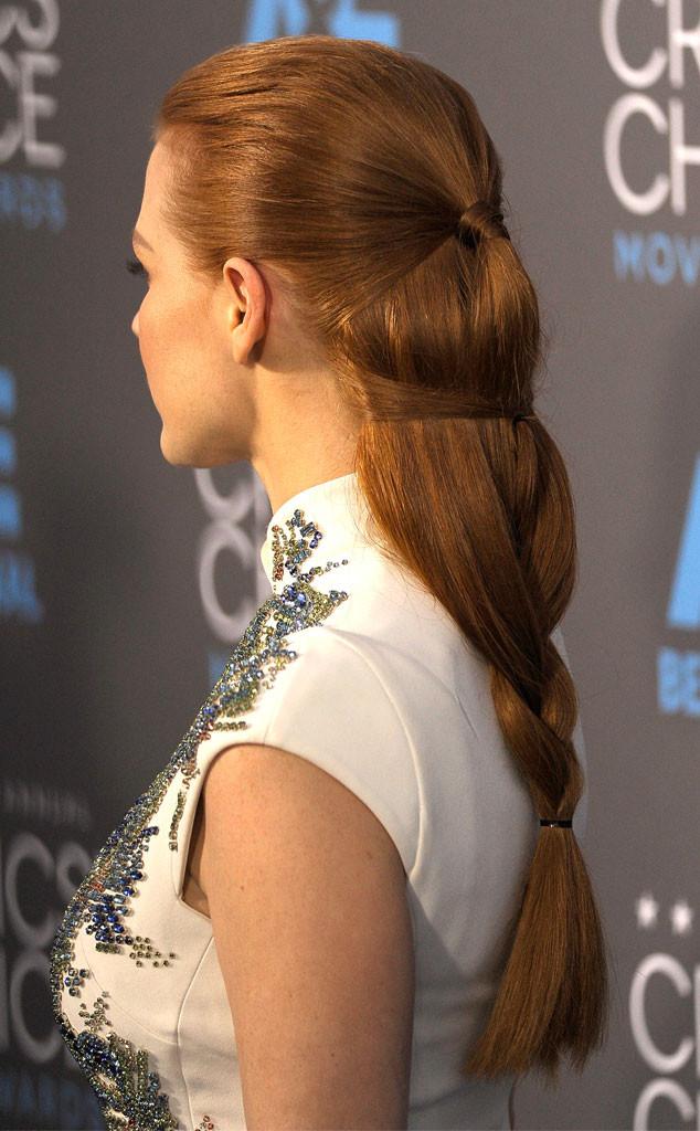 Jessica Chastain, Hair