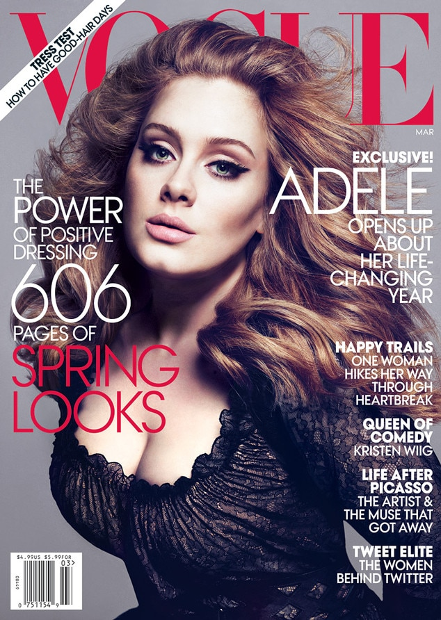 Adele, Vogue Cover