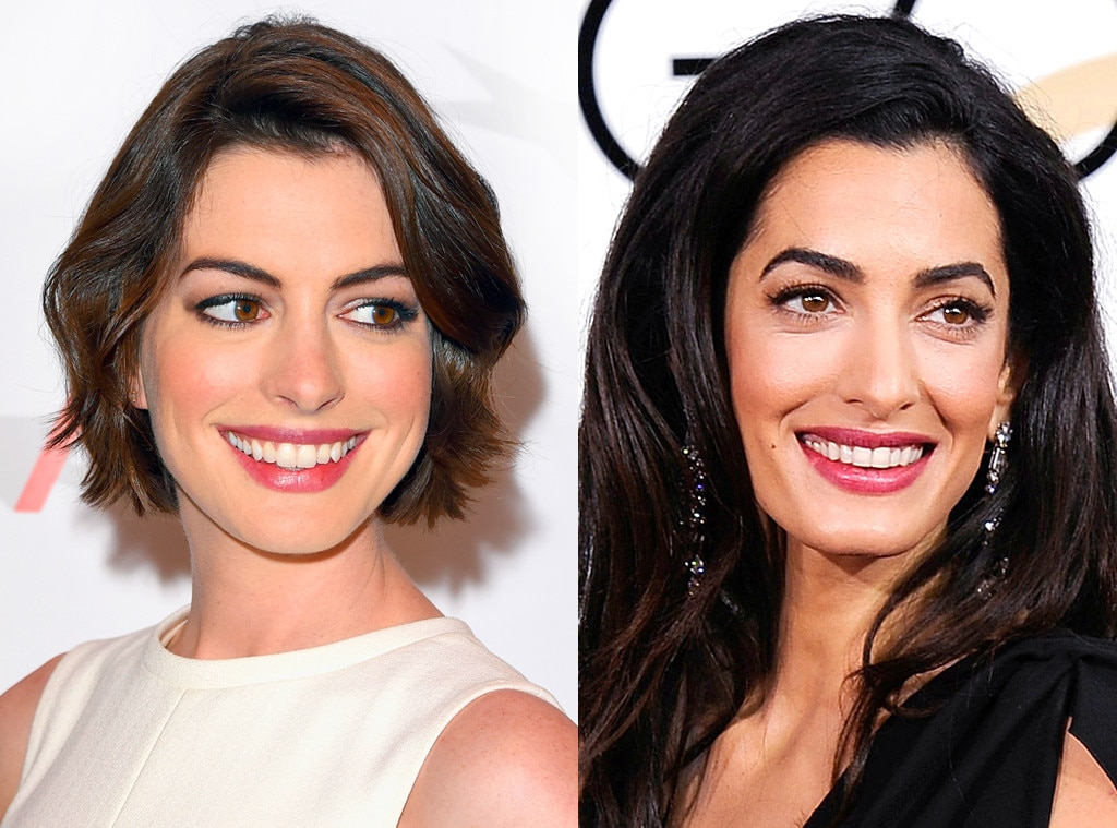 Anne Hathaway, Amal Clooney