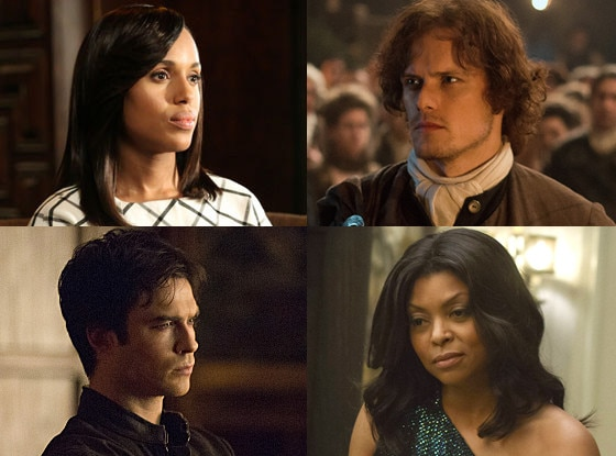 The Vampire Diaries, Empire, Outlander, Scandal