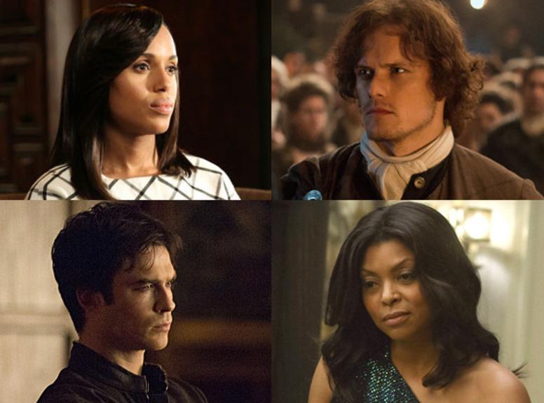 The Vampire Diaries, Empire, Outlander, Scandal