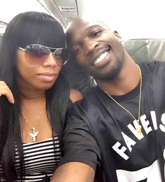 K Michelle And Ochocinco Chad Johnson an...