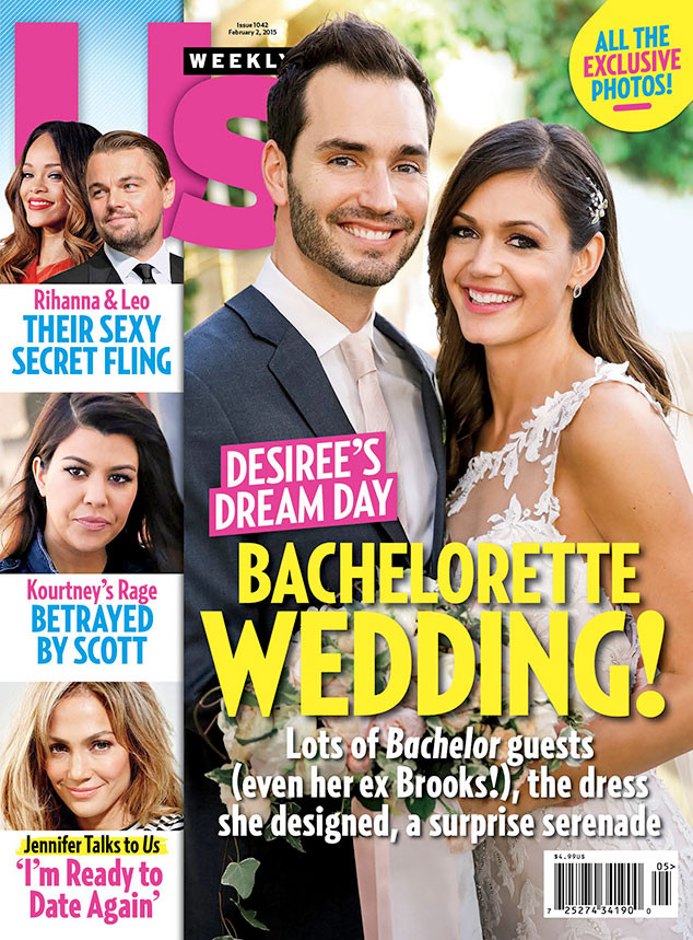 Desiree Hartsock, Chris Siegfried, Wedding, Us Weekly