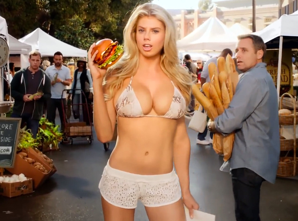 Carls Jr. Racy Super Bowl Ad Features Nearly Naked Model