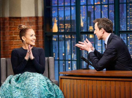 Jennifer Lopez, Seth Meyers