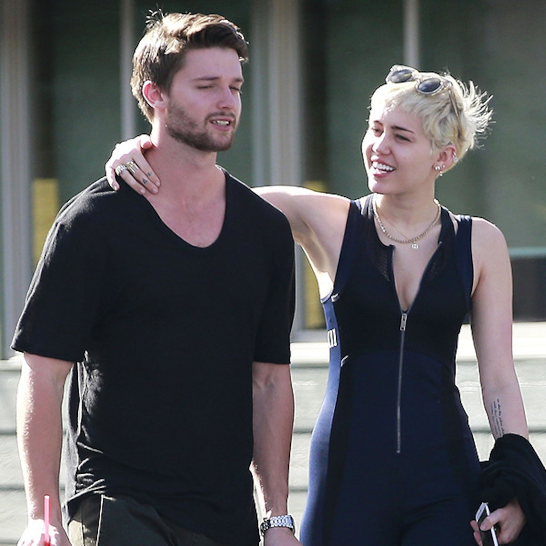 Miley Cyrus and Patrick Schwarzenegger strip off for a
