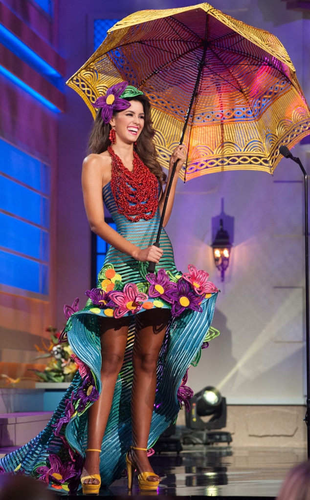 Miss Colombia from 2014 Miss Universe National Costume ...