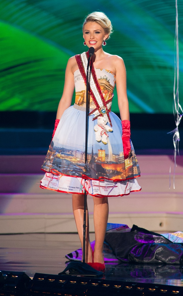Miss Germany from 2014 Miss Universe National Costume Show ...