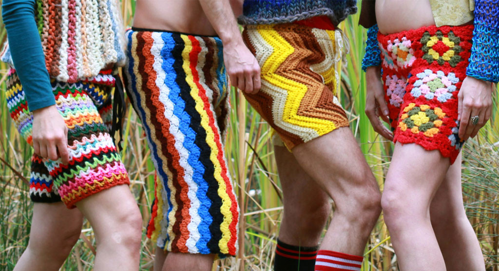 Forget Mens Penis Fashions Crochet Shorts For Guys Will Brighten