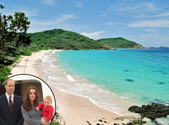 Mustique, Prince William, Prince George, Kate Middleton
