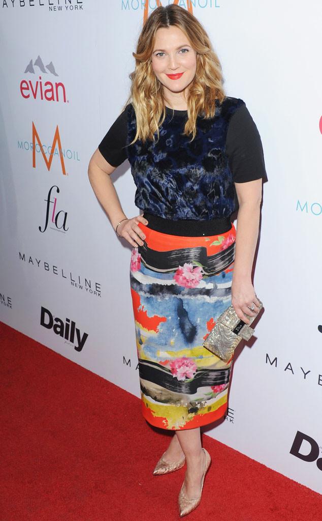 Fashion Police, Drew Barrymore