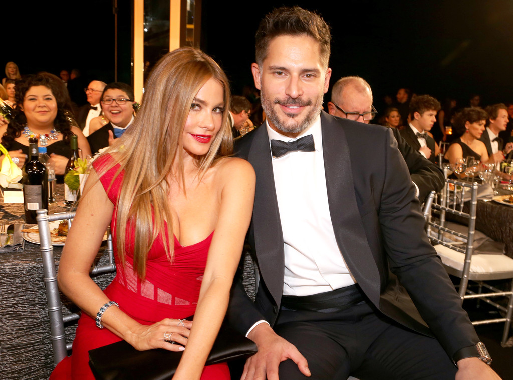 Joe Manganiello, Sofia Vergara, SAG Awards, Candid