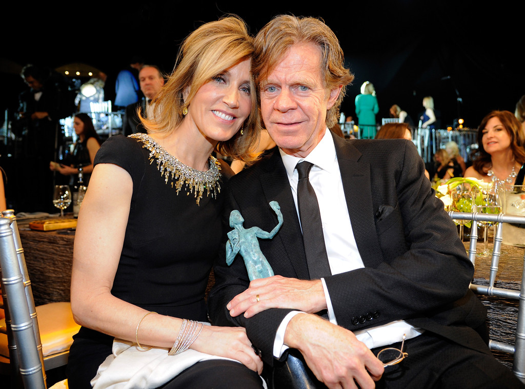 Felicity Huffman, William H. Macy, SAG Awards, Candid