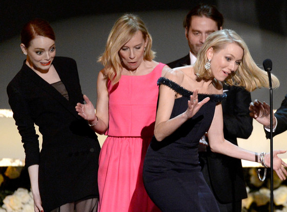 Emma Stone, Amy Ryan, Zach Galifianakis, Naomi Watts, Edward Norton, SAG Awards
