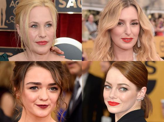 Bold Lips, SAG Awards