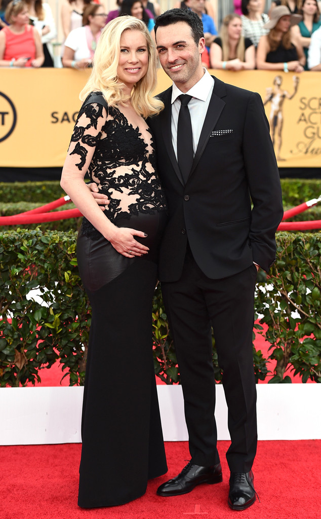 Elspeth Keller, Reid Scott, SAG Awards