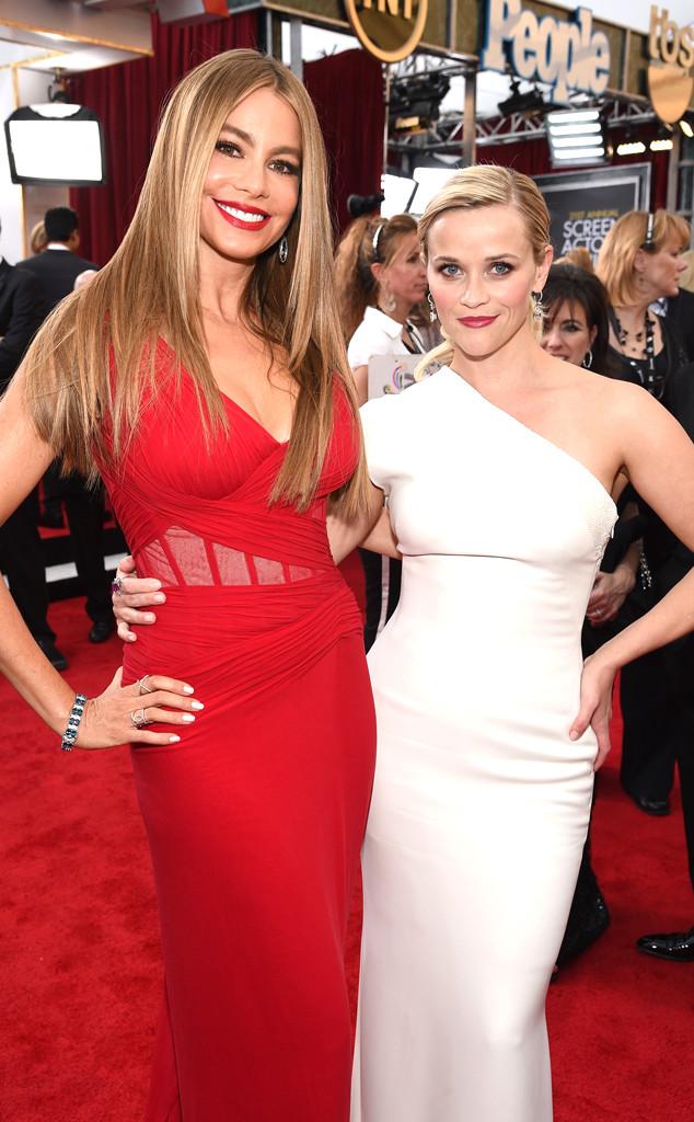 Sofia Vergara, Reese Witherspoon, SAG Awards