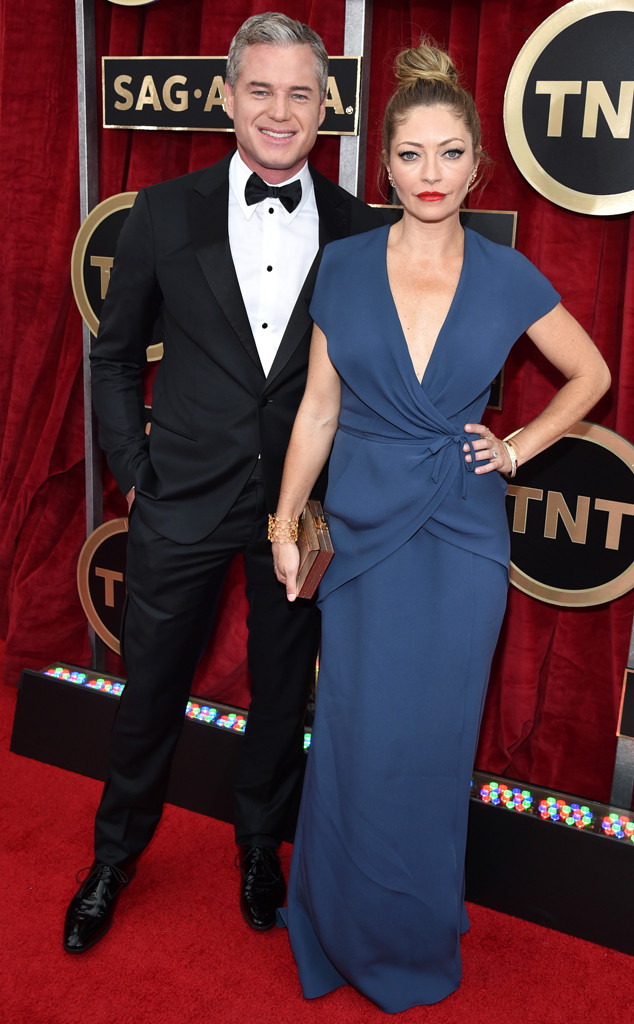 Eric Dane, Rebecca Gayheart, SAG Awards