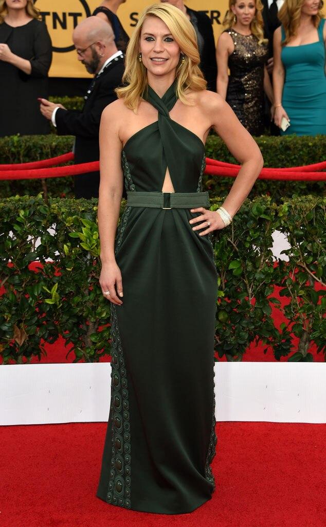 Claire Danes, Beauty, SAG Awards