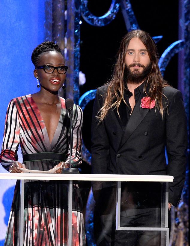 Lupita Nyong'o, Jared Leto, SAG Awards