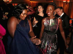 Danielle Brooks, Lupita Nyong'o, SAG After-party