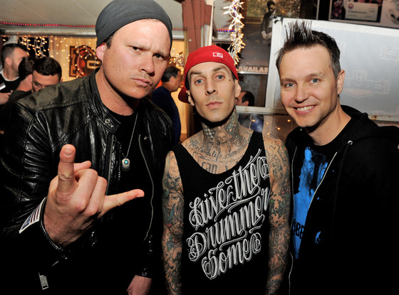 Blink-182, Tom DeLonge, Travis Barker, Mark Hoppus
