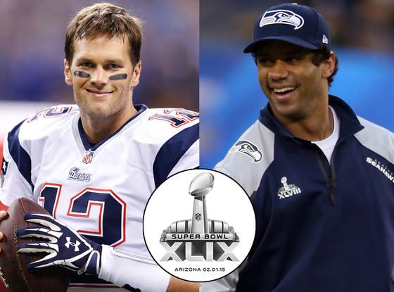 Tom Brady, Russell Wilson, Super Bowl 2015