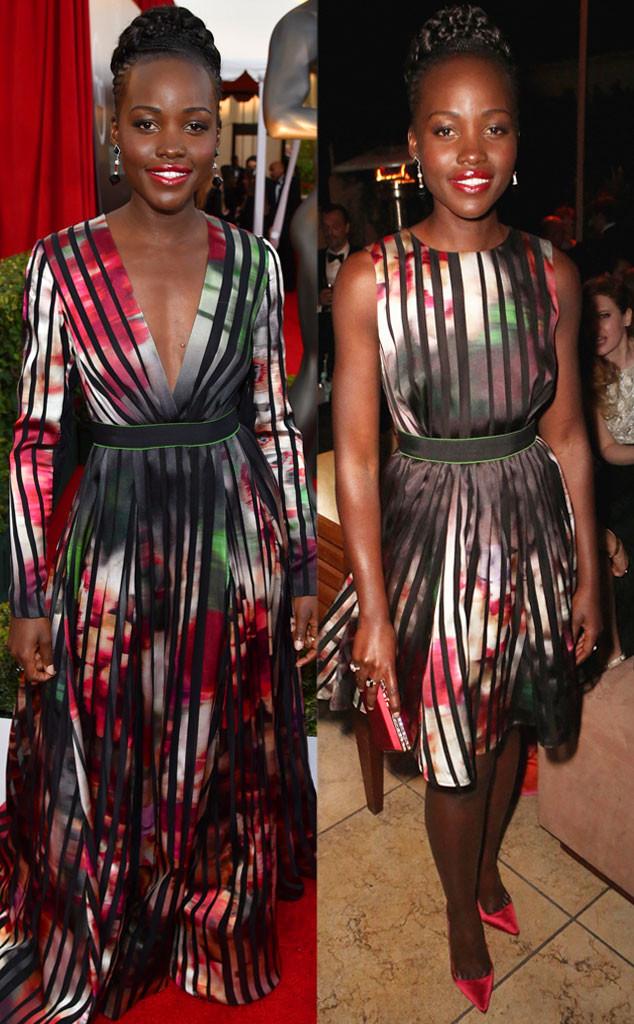 Lupita Nyong'o, Fashion, SAG Awards