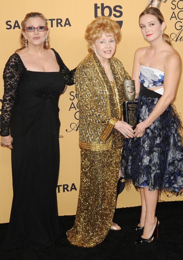Carrie Fisher, Debbie Reynolds, Billie Lourd, SAG Awards