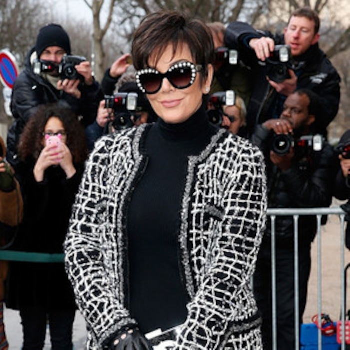 Kris Jenner Wears Revealing See Through Pants To Chanel Fashion Show