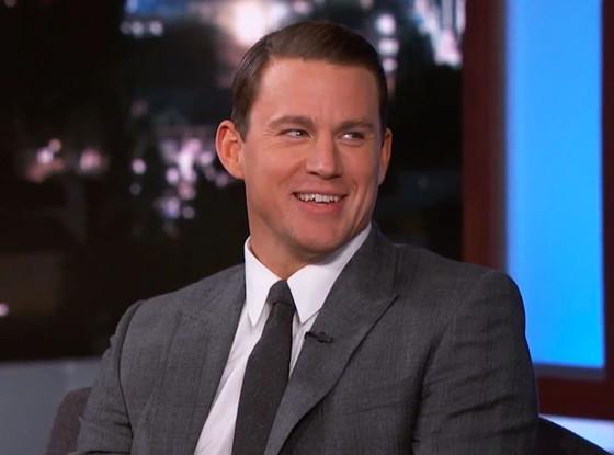 Channing Tatum, Jimmy Kimmel Live