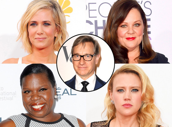 Kristen Wiig, Melissa McCarthy, Leslie Jones, Kate McKinnon, Ghostbusters