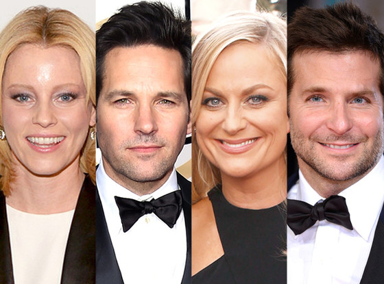 Elizabeth Banks, Paul Rudd, Amy Poehler, Bradley Cooper