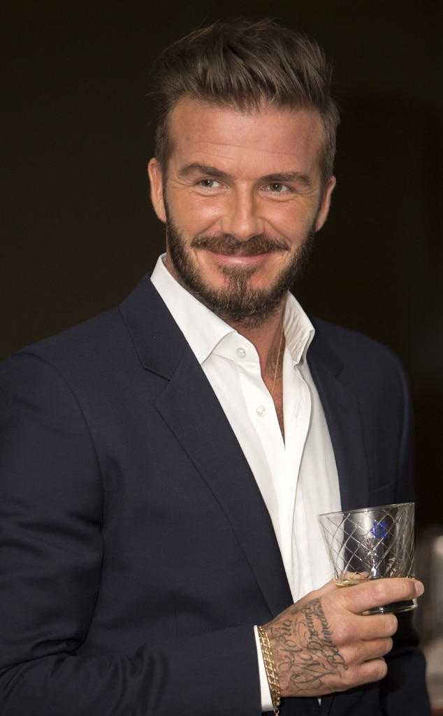 David Beckham -  The soccer star's Haig Club single grain Scotch whisky hit stores in London in July 2014 with a U.S. launch about six months later.