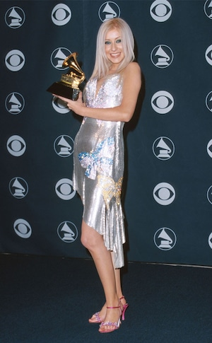 Grammys Throwback, Christina Aguilera 2000