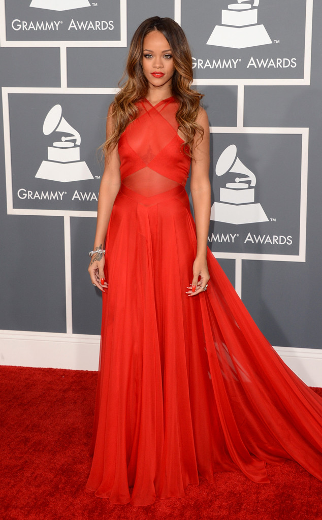 Grammys Throwback, Rihanna 2013