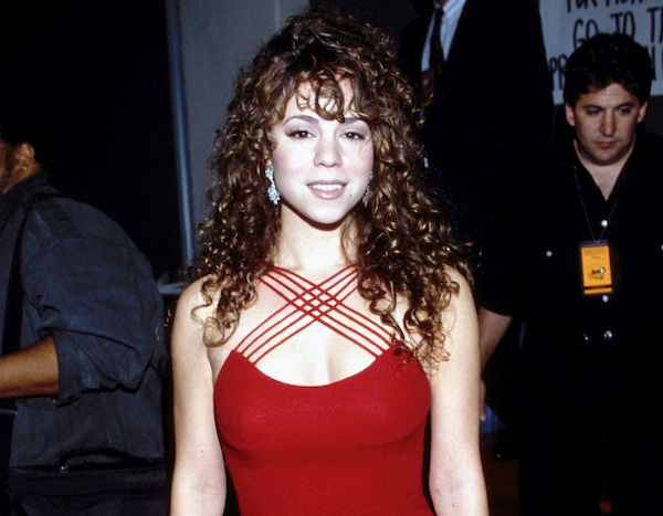 Online Carpets Uk >> Mariah Carey-1992 from Grammys Red Carpet Look Back | E! News
