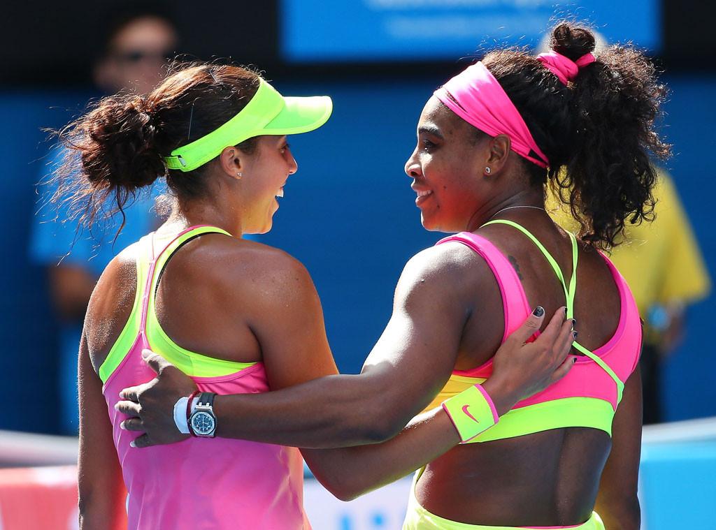 Madison Keys, Serena Williams, Australian Open