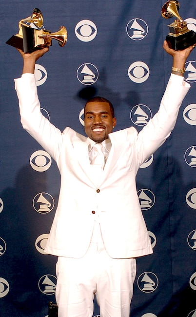 Kanye West, First Grammys