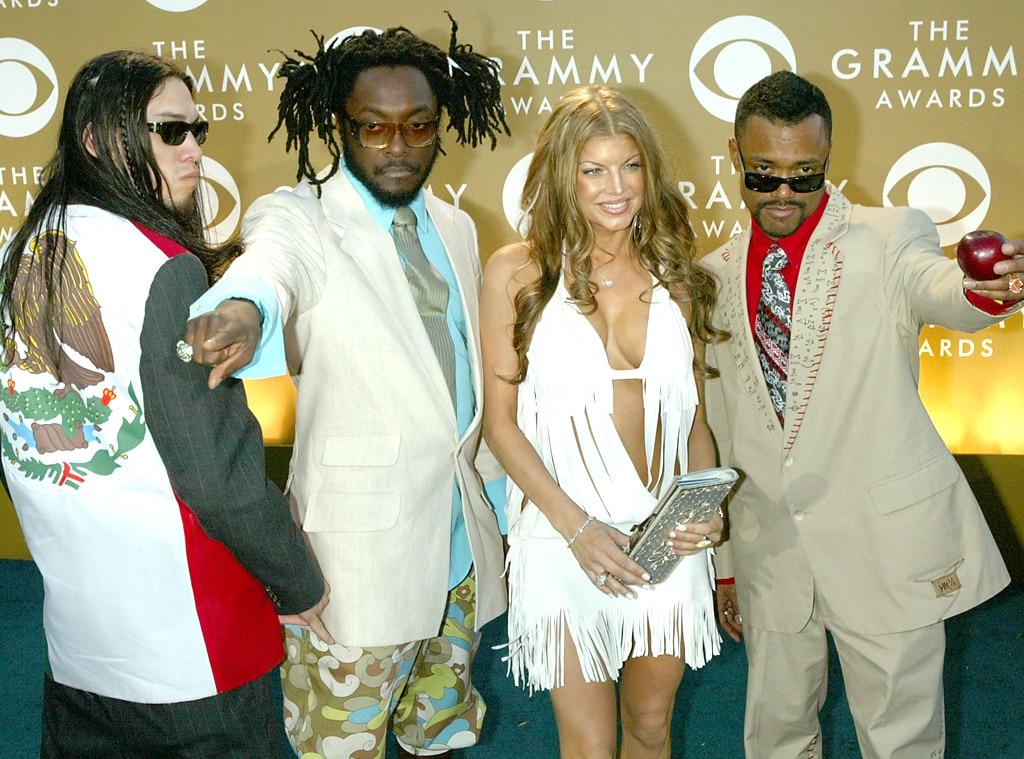 Fergie, Jaime Gomez, William Adams, Stacy Ferguson, Alan Pineda, First Grammys