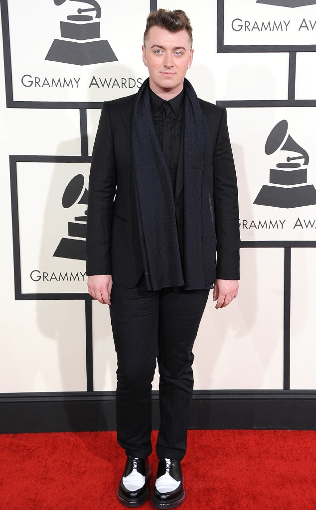 """Sam Smith -  The """"Stay With Me"""" crooner made his Grammys debut in 2014."""