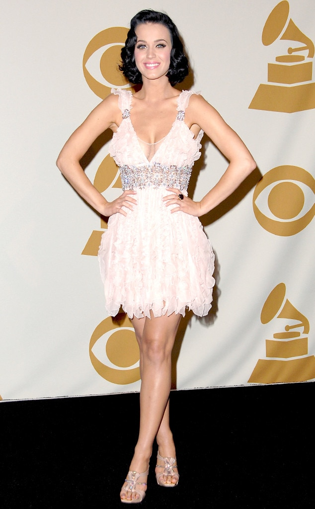 """Katy Perry -  The """"Firework"""" singer looked pretty in pink during the 2009 Grammys."""