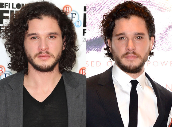 Kit Harington, Hair