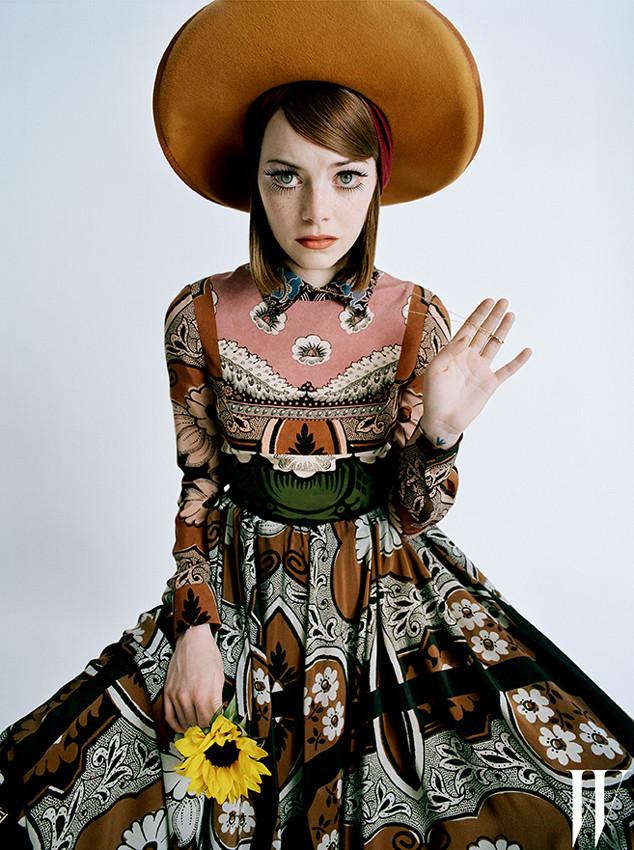 W Magazine, Emma Stone