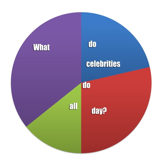 Pie Charts From Celebrity Pie Charts E News