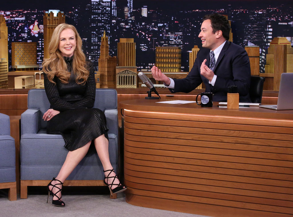 Nicole Kidman, Jimmy Fallon, Tonight Show